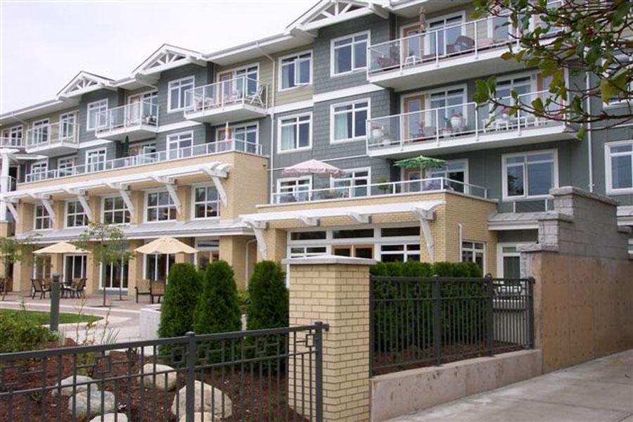 glass railings for multi-family buildings