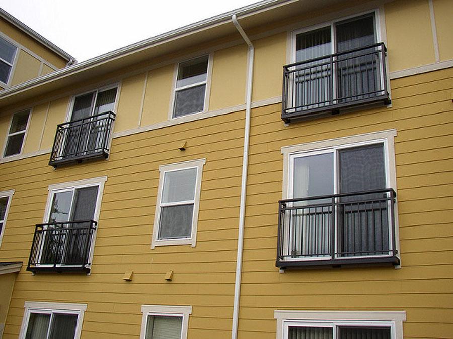 metal railing for multi-family buildings