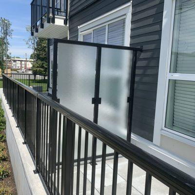 Aluminum railings in Abbotsford, BC
