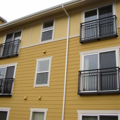 Juliet railings in Seattle, WA