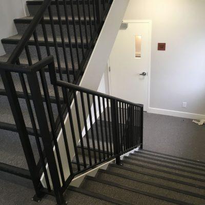 Custom guardrail in Kelowna, BC